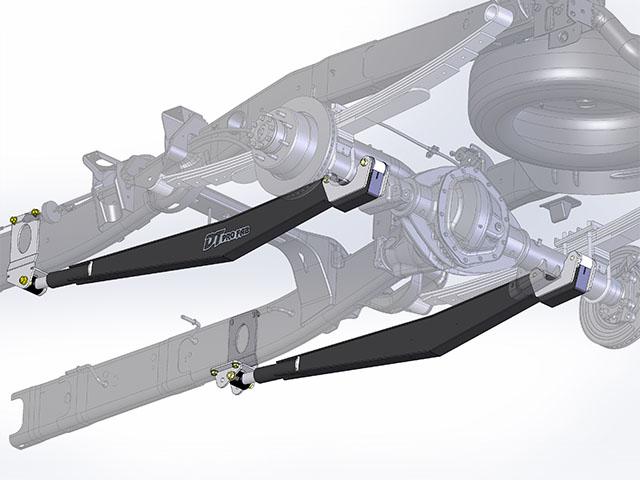 Dtp02060 1 98 02 Rear Traction Bar Kit Dodge