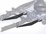 DTP02060-3  99-04  REAR TRACTION BAR KIT FORD